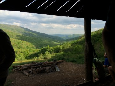 View from Overmountain Shelter