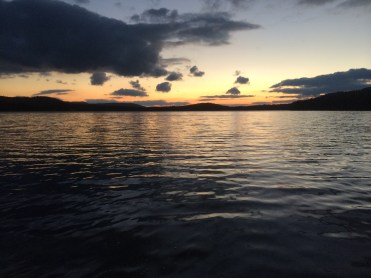 Maine had a lot of pretty lakes and awesome sunsets