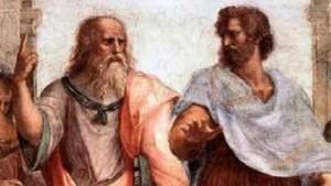 Human Philosophy - Plato & Aristotle (painting by Raphael)