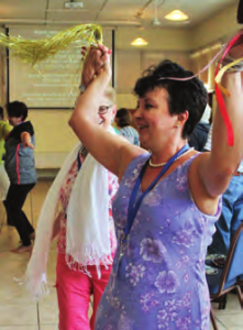 Dancing at Tents of Mercy