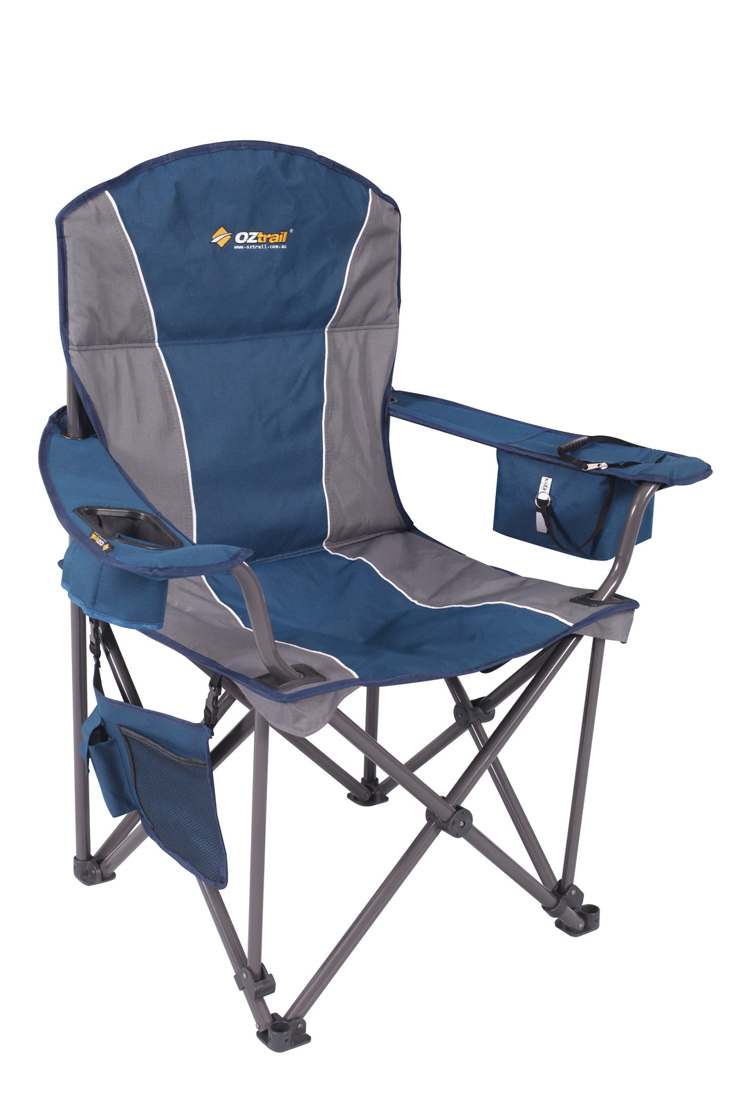 vision fishing chair covers for evening reception oztrail titan arm tentworld