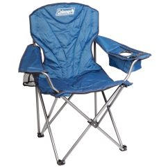 Coleman Oversized Quad Chair With Cooler Pouch Stackable Chairs For Less King Size Arm Tentworld