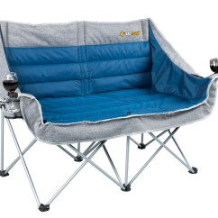 Fishing Chair Tent That Folds Out Into A Bed Oztrail Galaxy 2 Seater With Arms Tentworld