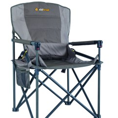 Fishing Chair With Arms Round On Stand Oztrail Rv Sport - Tentworld