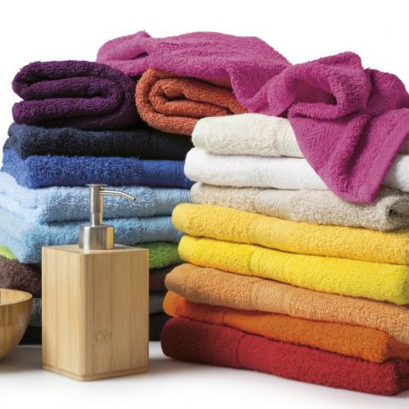 serviette de toilette ou de bain pas cher en coton 420 g m