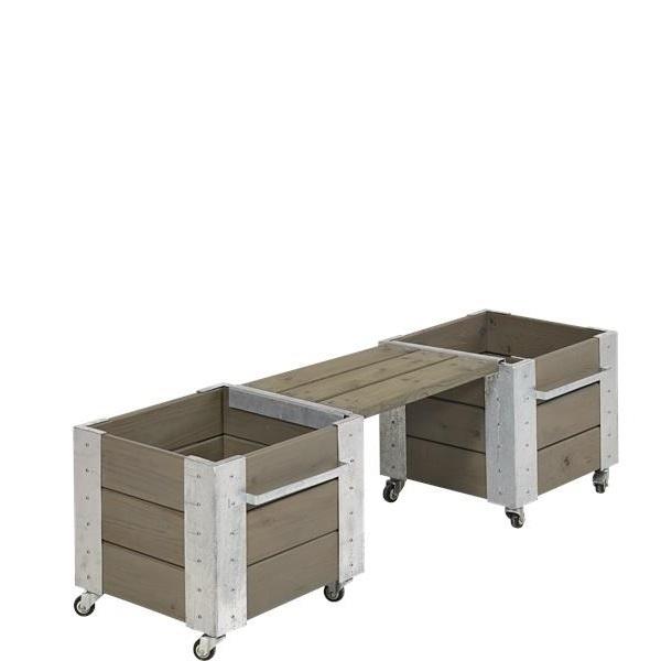 cubic long bank 120 cm for design