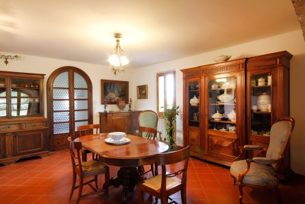 Indoor - Tenuta la Santissima, dining area