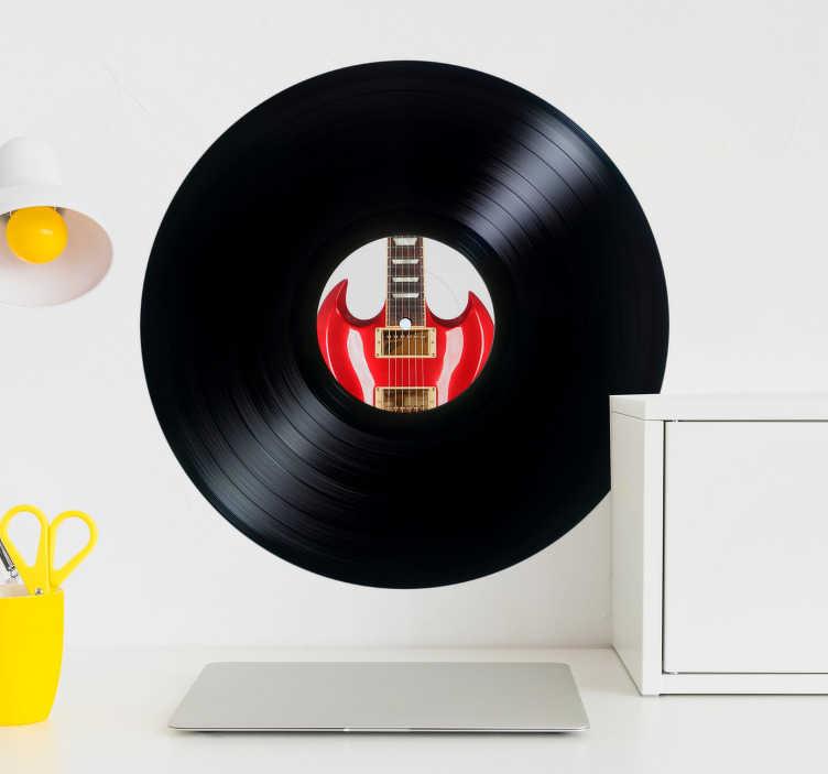 Adhesivos discos vinilo personalizados  TenVinilo