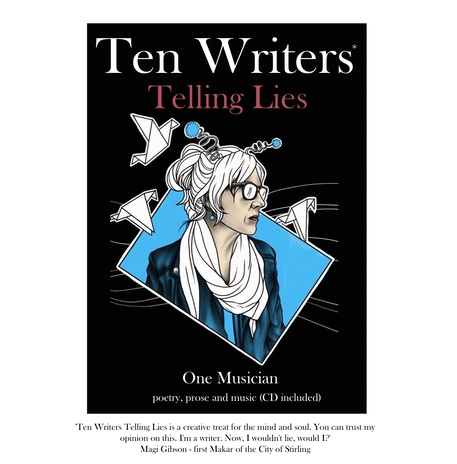 Ten Writers Telling Lies Book & CD