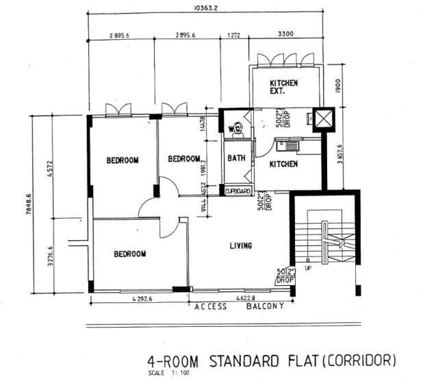 Standard Size Of Living Room In Meters