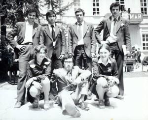 Първият отбор на Теодосий Теодосиев през м.май 1978