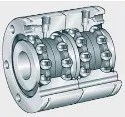 21. Axial angular contact ball bearings
