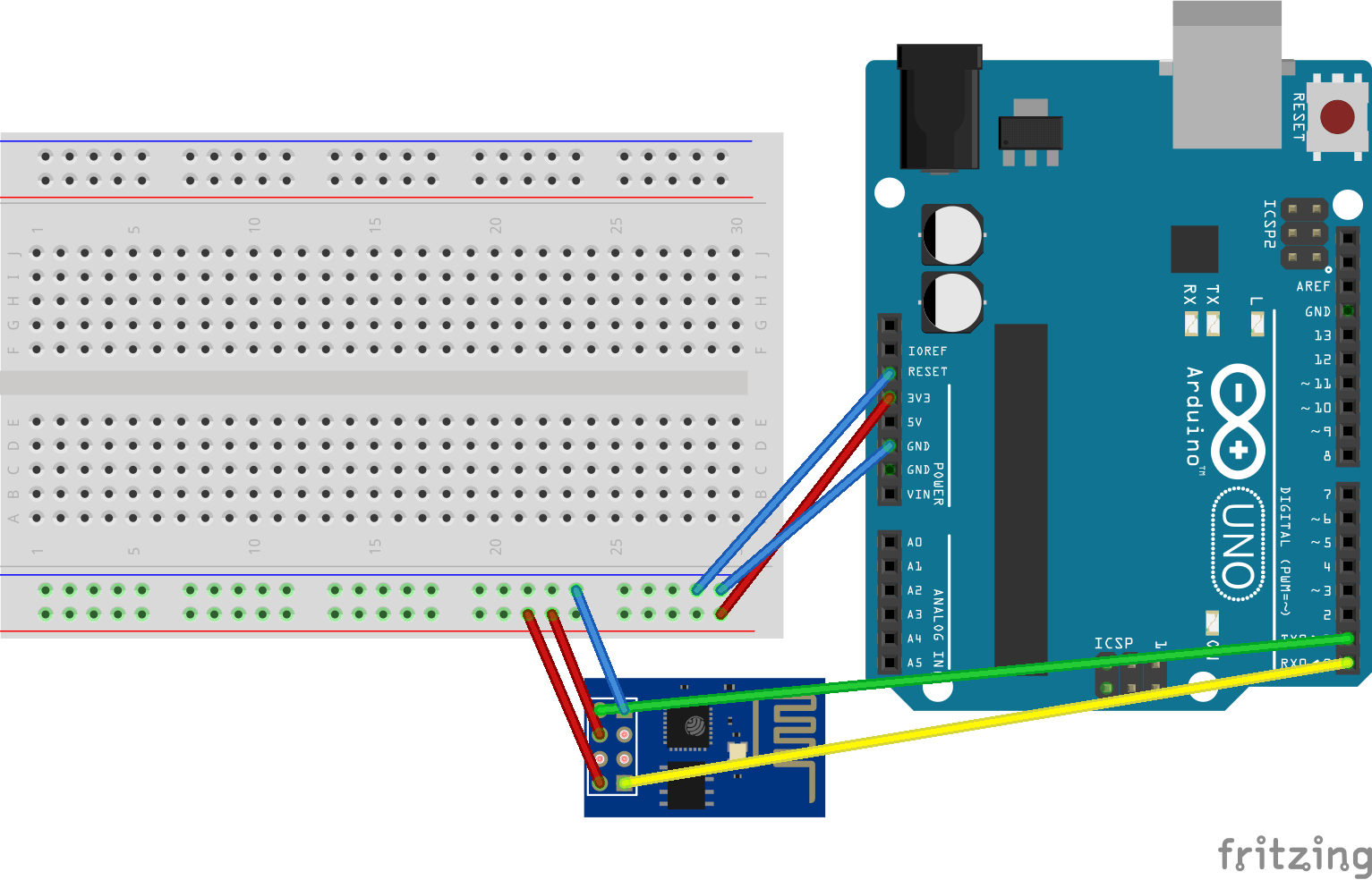 hight resolution of arduino uno connected to esp 8266 01