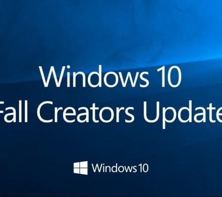 Aggiornamento Windows 10 Fall Creators update 1709