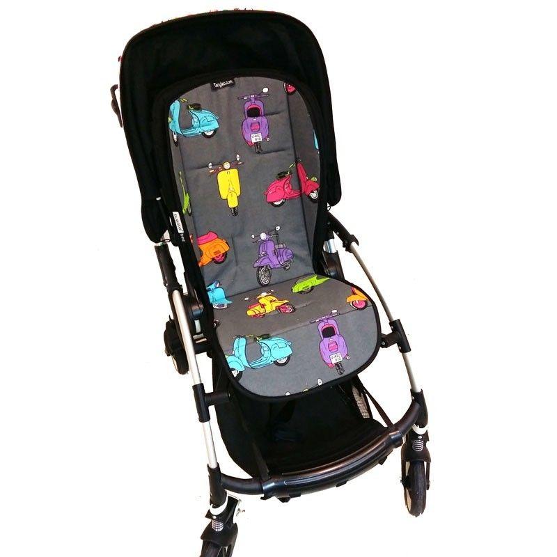 Colchoneta universal para silla de paseo con dibujos de