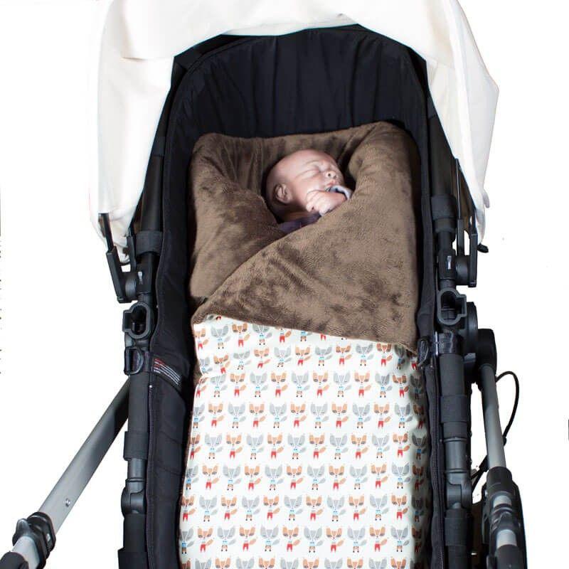 Arrullo acolchado de invierno para abrigar a tu bebe