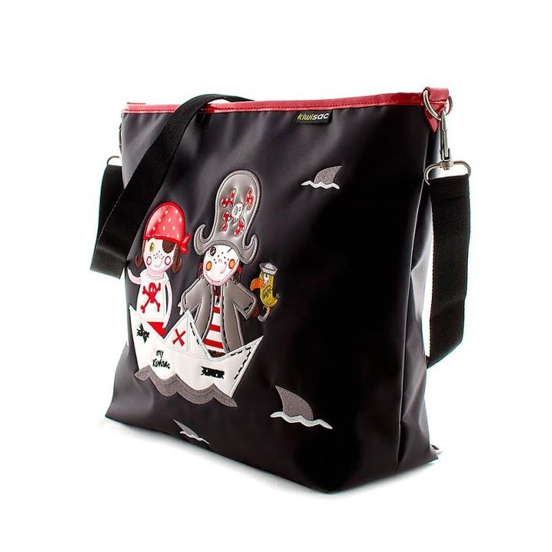 Bolso ligero piratas para llevarlo en bandolera y mochila