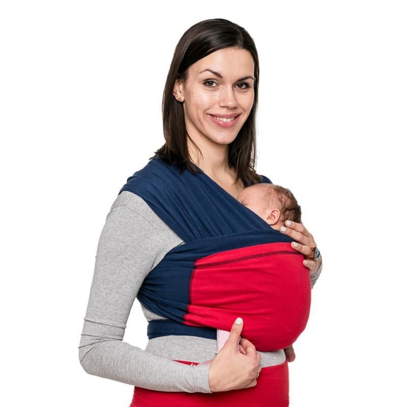 Fular elastico portabebes  suave y facil de usar