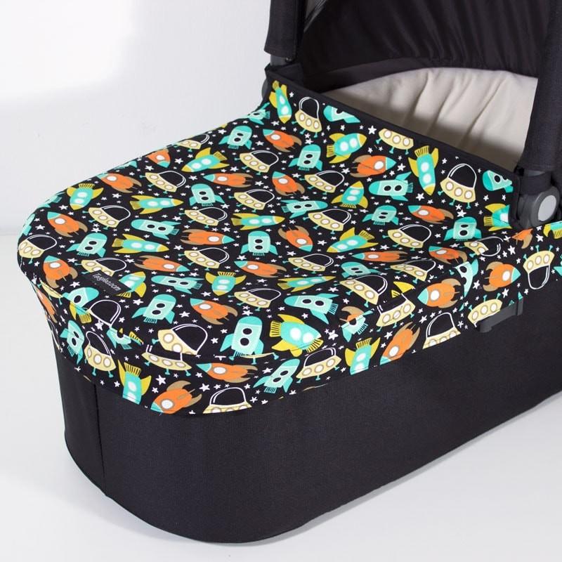 Uppa Baby  cubre capazo para cochecito con tu tela favorita