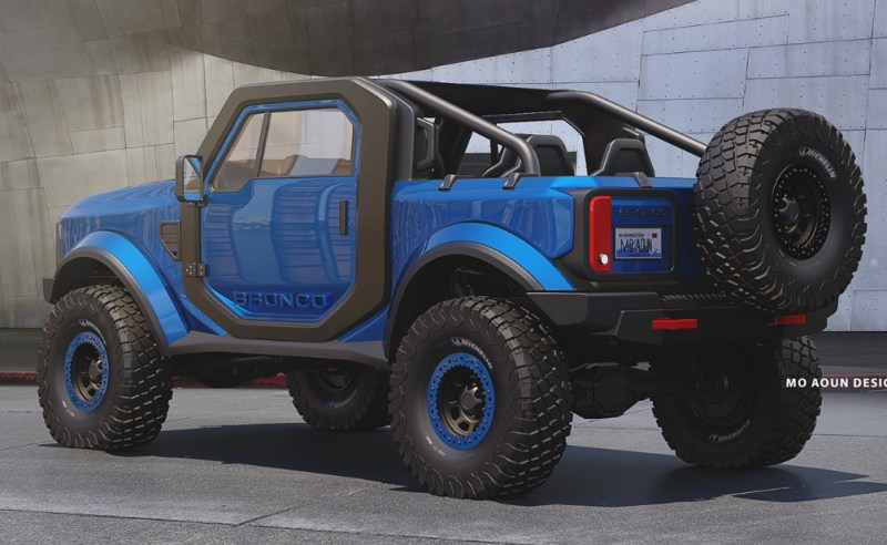 New Ford Bronco Sport 2021 Redesign