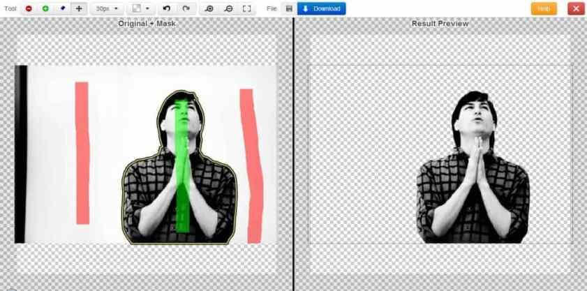 موقع Clipping Magic لإزالة الخلفية من الصورة مجاناً