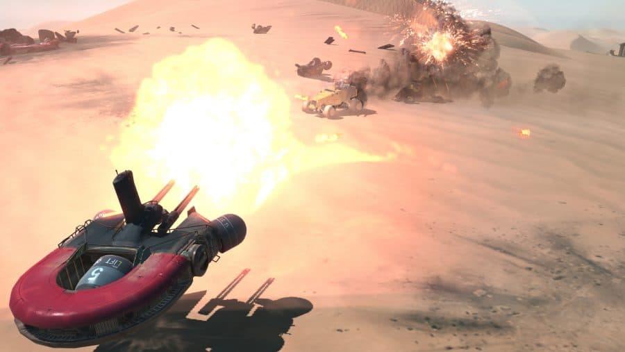 ألعاب استراتيجية: لعبة HomeWorld :Deserts of Kharak
