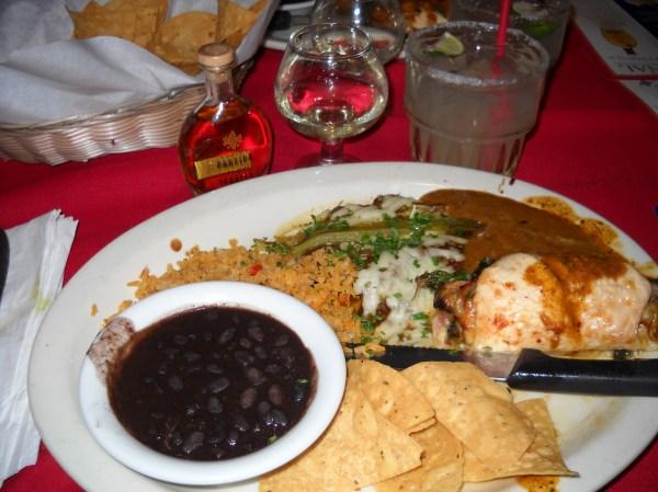 Partida Tequila Dinner Town Mexican Cafe
