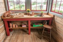 """""""fancy """" English Potting Shed Teracottage"""