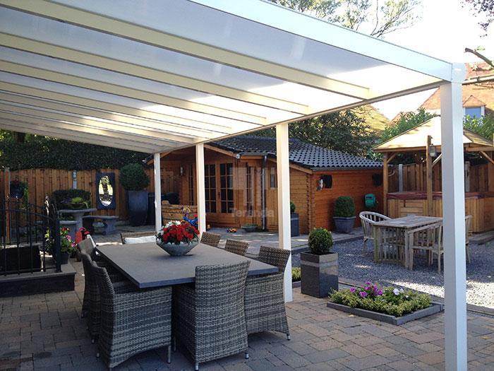 Terrassenüberdachung Zum Selbstbau? Bausätze Für Heimwerker