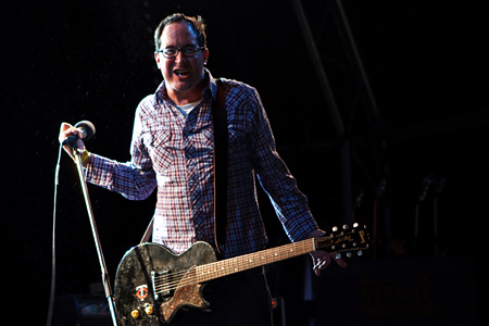 [ The Hold Steady @ End Of The Road festival 2009 ]