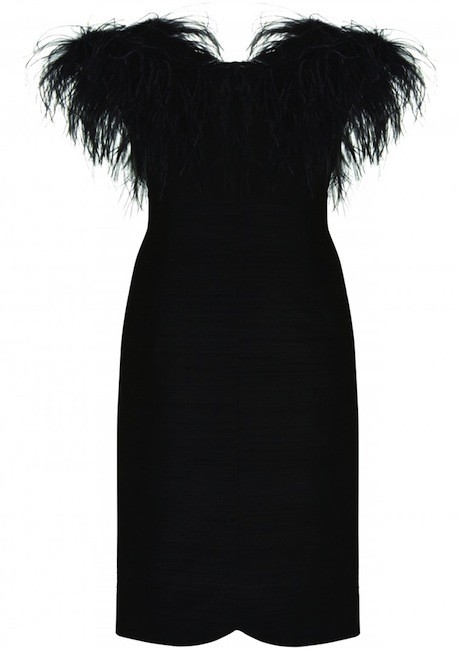 feather_dress topshop