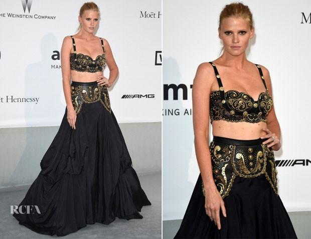 Lara-Stone-In-vintage-Gianni-Versace-amfAR-Cinema-Against-Aids-Gala