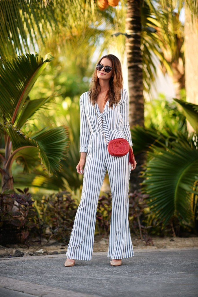 striped outfit spring 2015