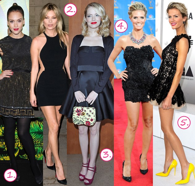 celebrity little black dresses 1