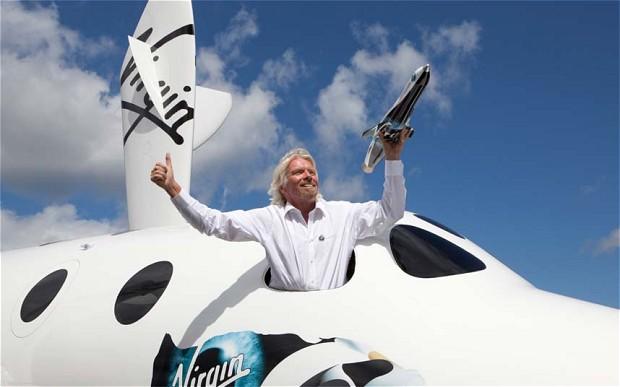 Virgin Galactic unveils new spaceship