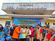 Kepala BNPB sambangi para pengungsi di Bogor.