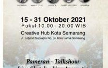Kelompok 5 Rupa Taja Pameran Lukisan di Creativ Hub di Kota Lama Semarang