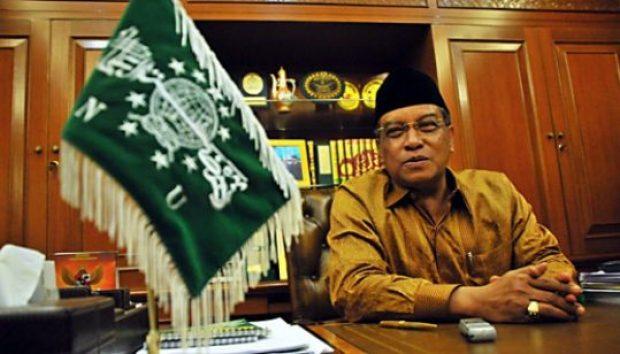 Ketua Umum PB NU, K.H. Said Aqiil Siradj