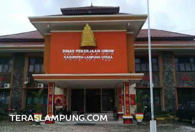 Kantor Dinas Pekerjaan Umum Lampung Utara