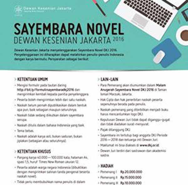 sayembara novel dkj