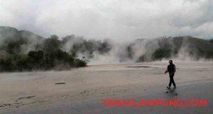 Kawah Keramikan di Suoh, Lampung Barat