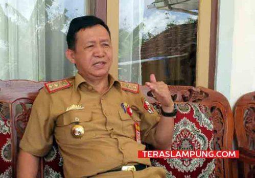 Mantan) Kepala Dinas Pekerjaan Umum dan Penataan Ruang Lampung Utara, Syahbudin