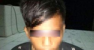 YS (17), warga Kampung Bumi Dipasena Agung, Rawajitu Timur yang memiliki dan menyimpan senjata api rakitan beserta amunisi secara ilegal ditangkap Petugas Satreskrim Polres Tulangbawang (Foto Humas Polres Tuba)