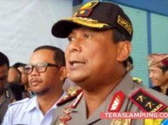 Kapolda Lampung Irjen Polisi Suntana (Teraslampung.com/Zainal Asikin)