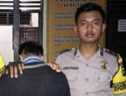 Menjambret di Pekon Tampang, Pria Ini Ditangkap Polisi di Kotaagung