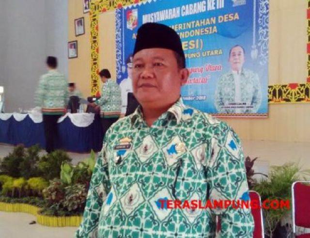 Ketua Apdesi Lampura terpilih, Edwar Syahputra