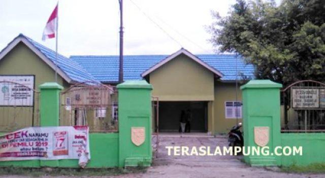 Kantor Desa Sidorejo, Kecamatan Sidomulyo, Lampung Selatan (Foto: Teraslampung.comZainal Asikin)