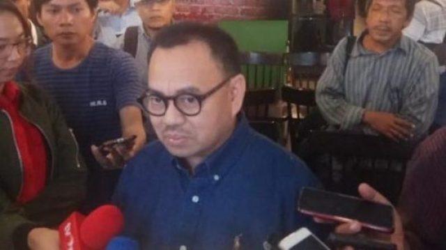 Direktur Materi dan Debat Badan Pemenangan Nasional (BPN) Prabowo-Sandi, Sudirman Said. (Suara.com/Welly Hidayat)
