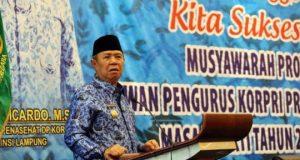 Wagub Lampung, Bachtiar Basri