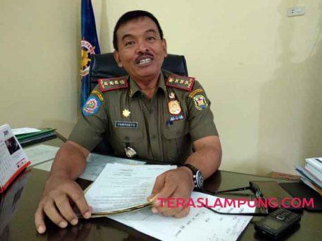 Kasat Pol.PP Kota Bandarlampung, Paryanto